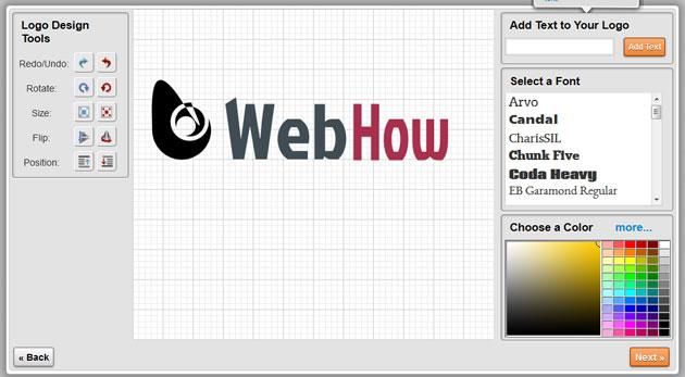 создание логотипа онлайн