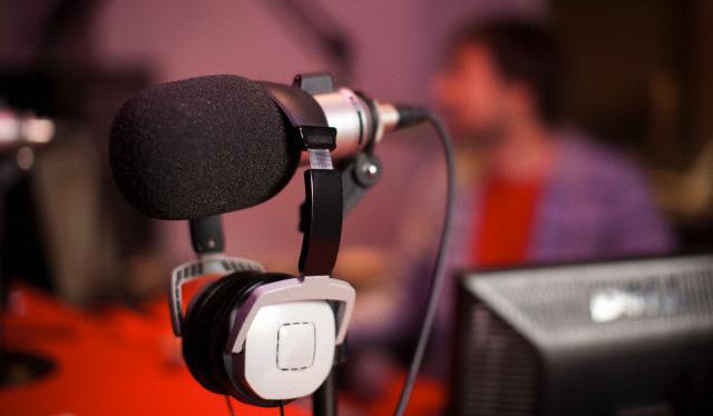 студия на радио