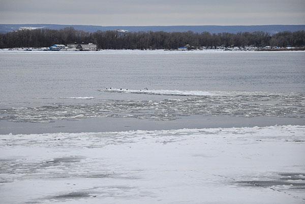 Волга в декабре